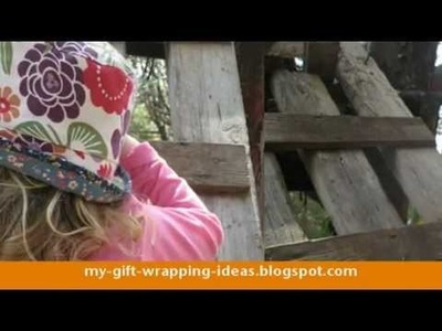 How To Make A Summer Hat Out Of An Holly Hobbie Dress