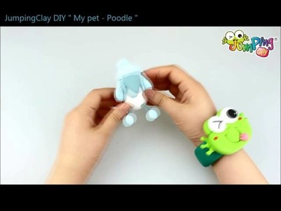 Jumping Clay Tutorial - How to make a Poodle