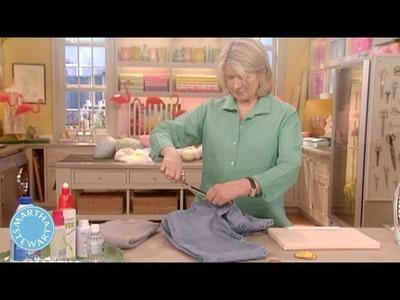 Martha's Stain Removal Shortcut - April Fool's Day - Martha Stewart