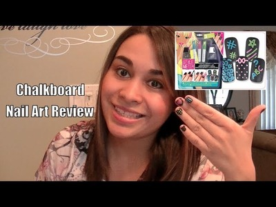 Style Me Up Chalkboard Nail Art Review
