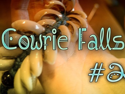 {CRAFT} How to make a Cowrie. Kauri Fall (2 set Version)