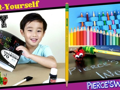 DIY Back to School Supplies Tutorial for Kids