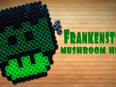 FRANKENSTEIN Mushroom Perler Head (Stop Motion)