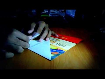 How To Make A Quick Long Distant Flying Paper Plane in 2 Minutes (Easy Method)