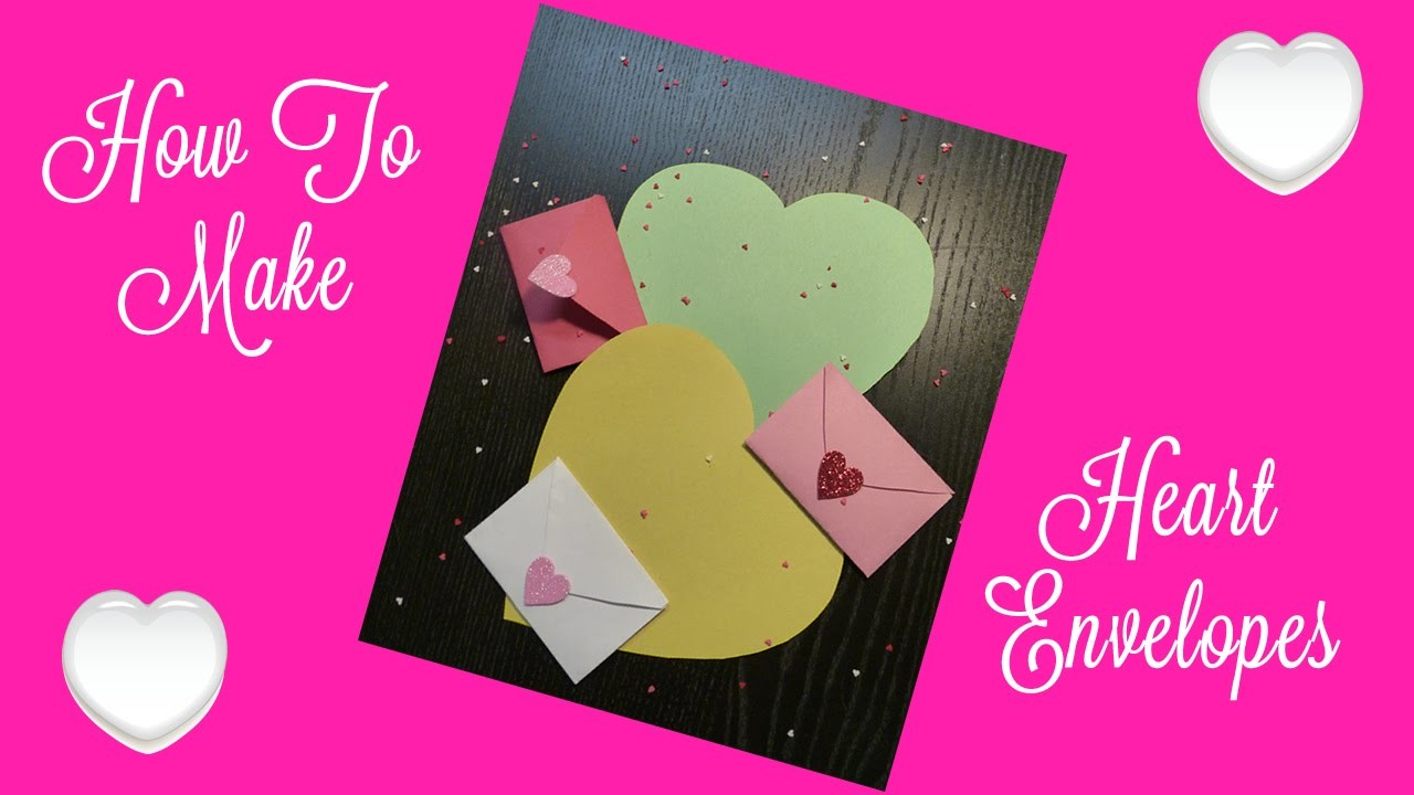 How To Make An Envelope Out Of A Heart Shape