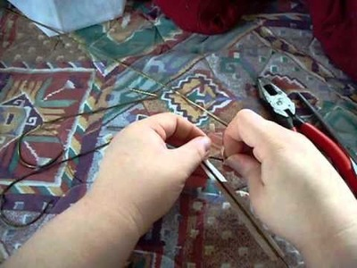 How to make Duct Tape curtain tie backs