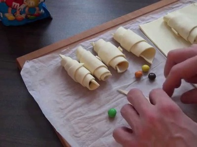 How to Make Croissants - Oreo, Milka, Kinder Riegel, M&M's