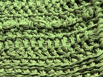Learn to Make a Tunisian Crocheted Purse