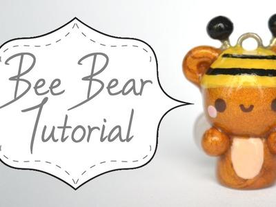 Bee Bear Polymer Clay Tutorial