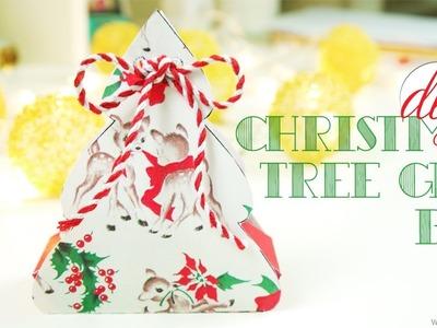 DIY Cute Christmas Tree Gift Box   Nekkoart