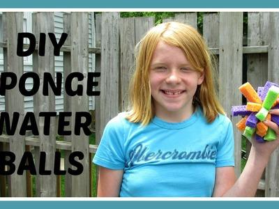 DIY SPONGE WATER BALLS | Dollar Tree Craft | ItsJustMyLifeCA