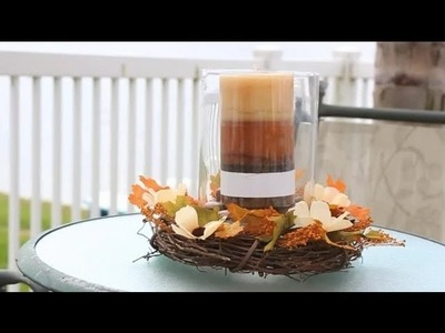 How to Decorate in Fall With an Outdoor Wreath : Ribbons & Wreaths Decorations