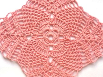 How To Make A Beautiful Crochet Doily - DIY  Tutorial - Guidecentral