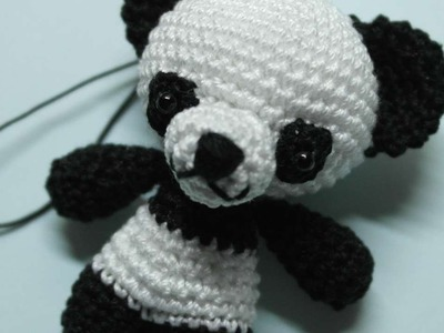 How To Make A Cute Crocheted Key Charm Panda - DIY Crafts Tutorial - Guidecentral