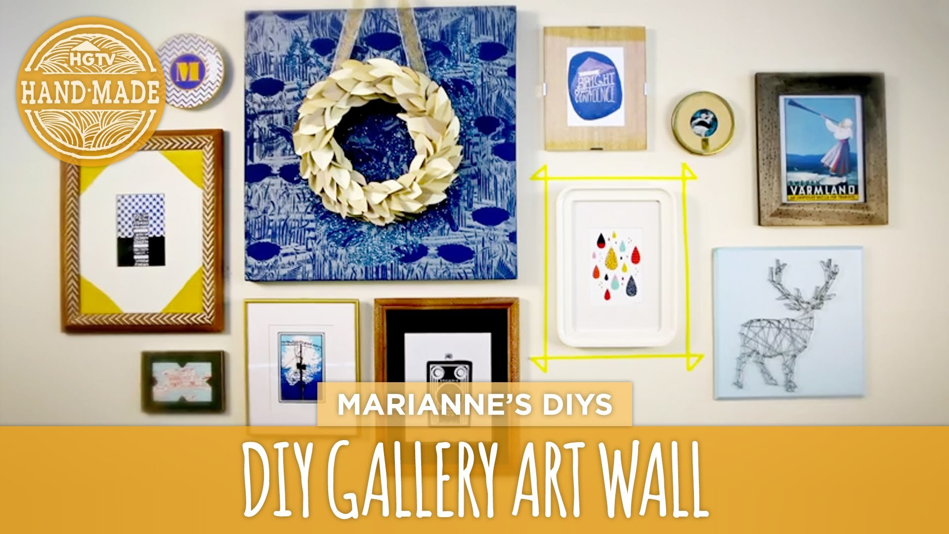 How To Make a Gallery Wall - HGTVHandmade