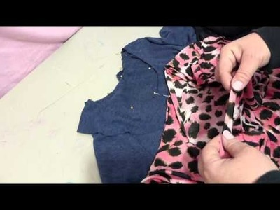 How to sew make a facing pattern for your garments
