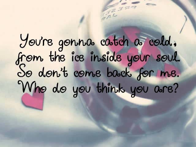 Jar of Hearts-Christina Perri with Lyrics