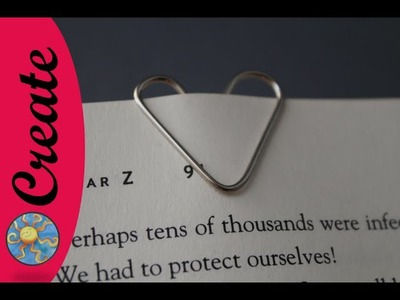 Make a Paper Clip Heart from an ordinary paperclip
