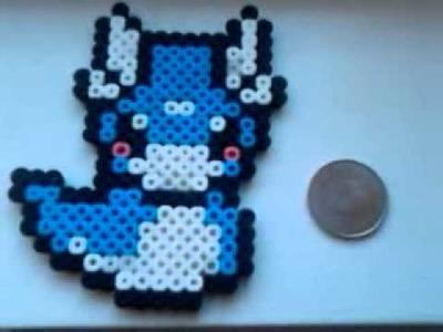 Perler beads creations
