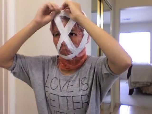 Silent Hill Nurse Mask Tutorial