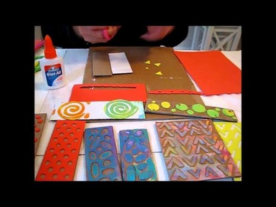 Art Journal - How to make Foam Stamps