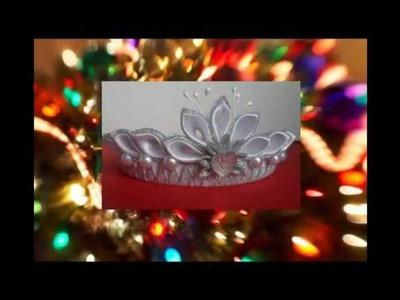 Christmas Mood kanzashi Begins -  Kanzashi Christmas mood begins