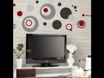 Colorful Circle Removable Vinyl Decal Art Mural Wall Stickers Home Room Decor