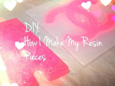 DIY: How I make resin pieces