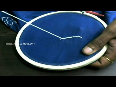 Embroidery Stitches | Tutorial | DIY | Learn how to make Stitch No 8 Outline stitch by hand