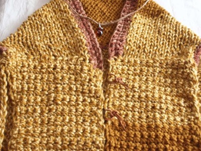 How To Knit And Crochet A Beautiful Open Poncho - DIY Style Tutorial - Guidecentral