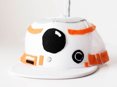 How to Make a BB-8 Hat and shirt for a Costume!