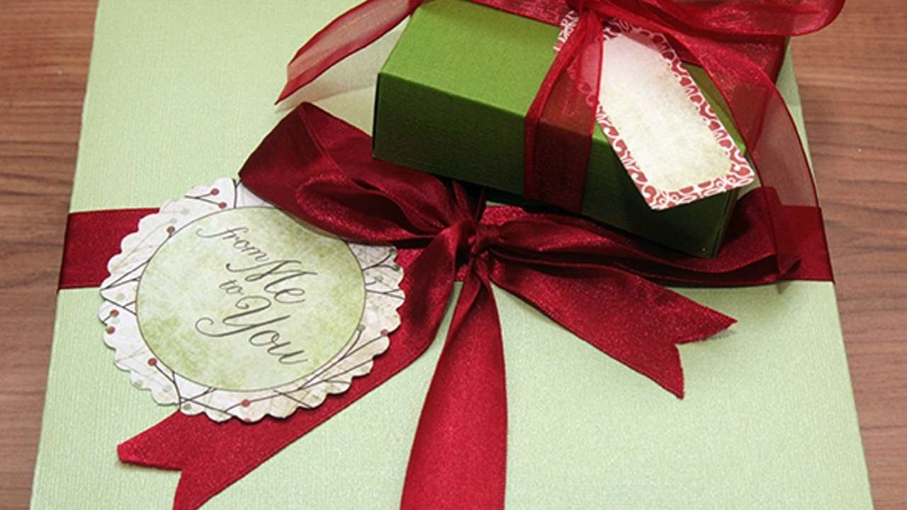 How To Make Hand Made Gift Boxes - DIY Crafts Tutorial - Guidecentral