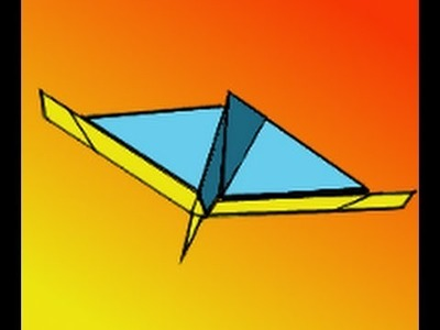 How to Make the Jaguar Paper Airplane Video Instructions