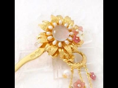 Iris. Kanzashi @ JapaneseHairPin.com - Beatiful Japanese hair pin