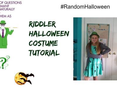 Riddler Costume Halloween Tutorial (DIY)