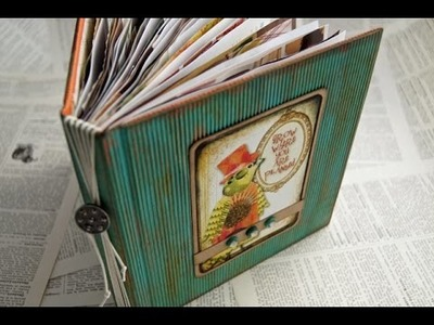 Use Your Stash - 'Contentment' Junk Journal by EVG
