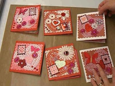 Valentine Paper Bag Cards
