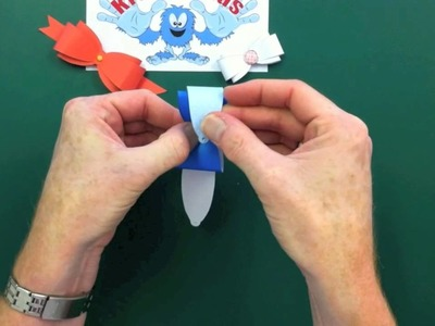 Creating Paper Bows with Kraftyhands