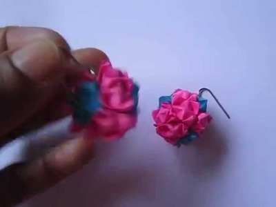 Handmade Jewelry - Modular Origami Paper Globe Earrings
