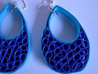Handmade Jewelry - Paper Quilling Dangling
