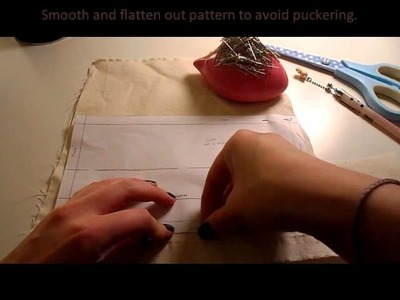 How To Cut Paper Sewing Patterns Smoothly Without Jagged.Rough Edges