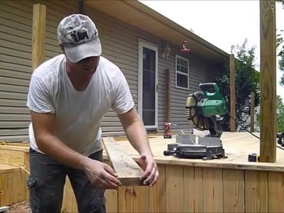 How To Lay Deck Boards