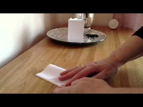 How to make a book from one sheet of paper