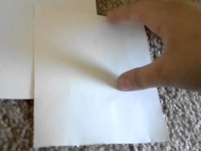 How to make a book out of paper part 1