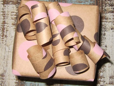 How to Make a Bow out of Wrapping Paper