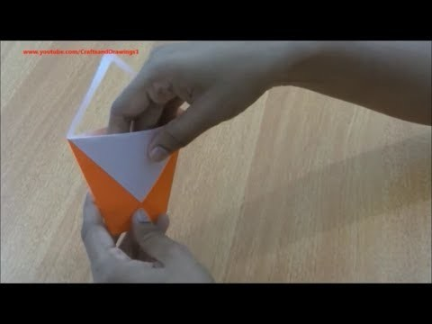 How to make a paper bag with handle easily