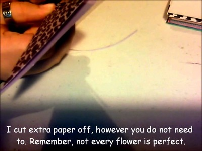How To: Make a Paper Flower Arrangement