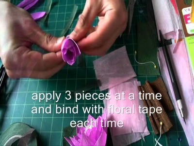 How to make paper flower loftus II