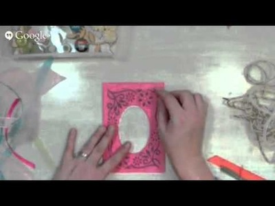 How to use up scraps. Ribbon, paper and more