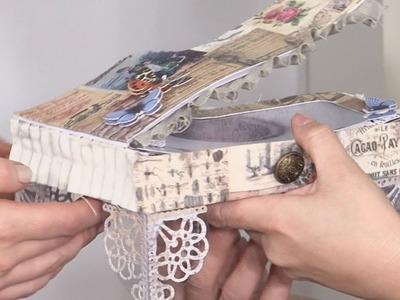 Making A Paper Piano Trinket Box    docrafts Creativity TV